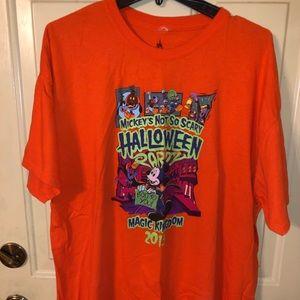 Men's XXL Disney Not So Scary Halloween t-shirt